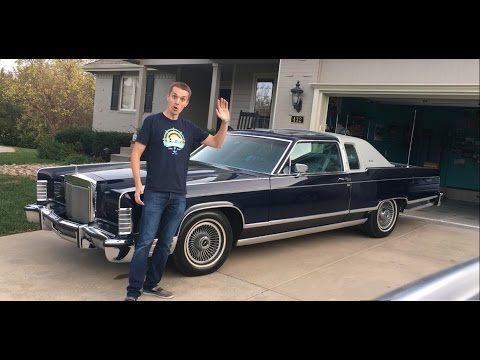 2016 Lincoln Town Car >> LAND YACHT LOVIN: My 1978 Lincoln Continental Town Coupe ...