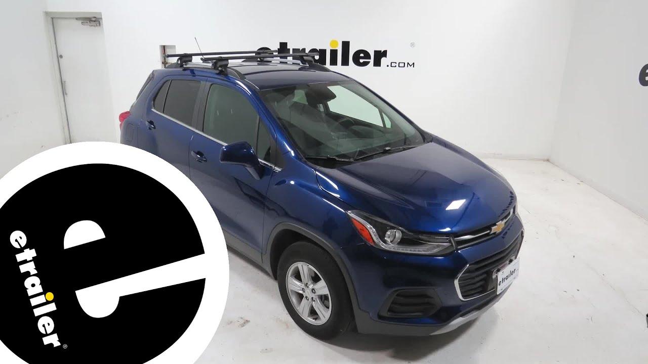 etrailer yakima roof rack review 2017 chevrolet trax