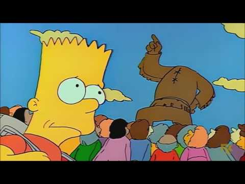 Bart Feels Guilty About His Crime - The Simpsons