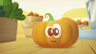 Learn Fruits and Vegetables for Kids : The Pumpkin