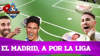 ⚪️ El REAL MADRID, a revalidar la LIGA | La PIZARRA de DURO | Chiringuito Inside
