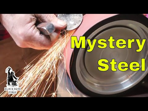 Testing unknown steels for hardening potential