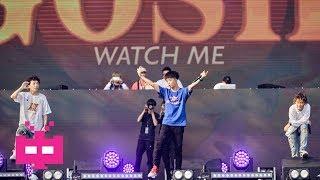 🎤#WATCHME王齐铭 FREESTYLE ❌2018长沙YOLO音乐节