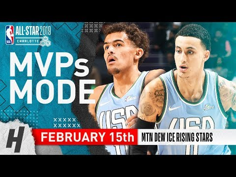 Trae Young & Kyle Kuzma Full Highlights at 2019 All-Star Rising Stars Game - 60 Pts Total