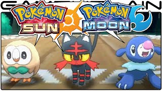 Pokémon Sun & Moon Discussion - Starter Trailer w/ Serebii