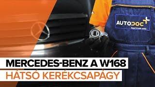 MERCEDES-BENZ Kerékcsapágy készlet kiszerelése - video útmutató