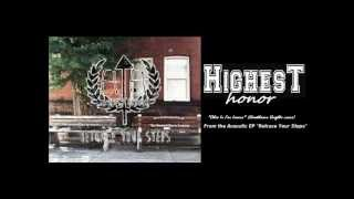 Highest Honor - Ohio Is For Lovers (Hawthorne Heights acoustic cover)