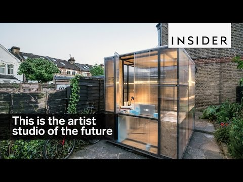 This is the artist studio of the future