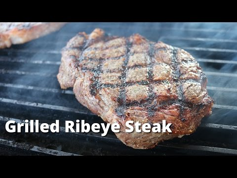 Grilled Ribeye Steaks On Weber Kettle | Grilled Rib Eye Steak Recipe Malcom Reed HowToBBQRight