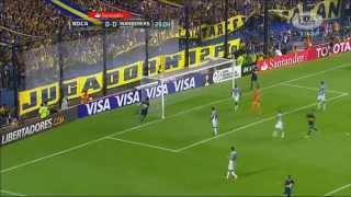 Boca Juniors 2 - 1 Montevideo Wanderers - Fase de Grupos Copa Libertadores 2015