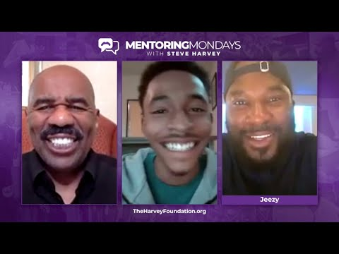 Jeezy And Dr. Steve Perry Join Mentoring Mondays W/ Steve Harvey - Ep. 6