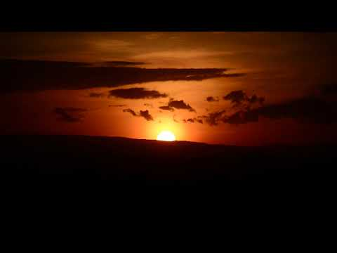 Sunset On The African Equator