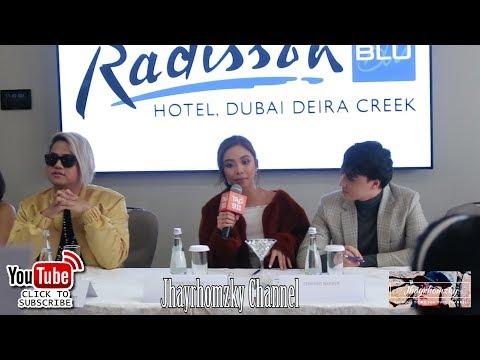 MAYWARD CONCERT IN DUBAI PRESSCON - MAYMAY WALANG TAKOT SUMAGOT SA TANONG NG MEDIA