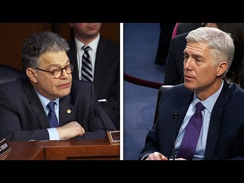 Gorsuch Won't Answer Democrats' Questions