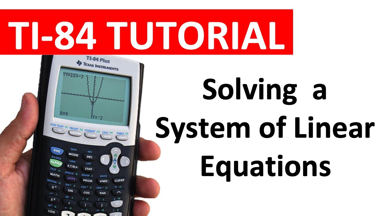 Solve 4 by 4 system of linear equations by canon f-789sga.