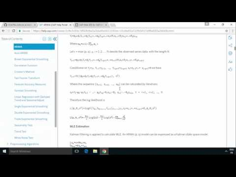 SAP HANA Academy - Web IDE for HANA: Predictive - HDB AFLLANG Procedures [2.0 SPS 00]