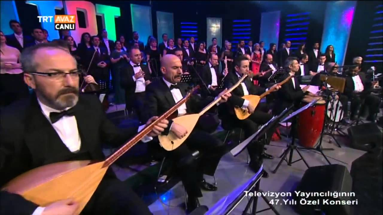 TRT Türk Halk Müziği Çocuk Korosu - TRT 47. Yıl Özel Konseri - TRT Avaz
