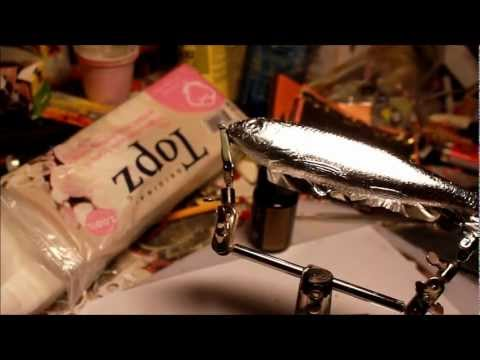 how to do Metal leafing on fishing lures