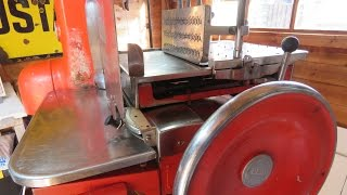 Vintage Berkel And Parnalls Meat/BaconSlicer. #SRP