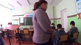 урок русского языка в 4 классе упражнение в определении падежных окончаний имён существительных