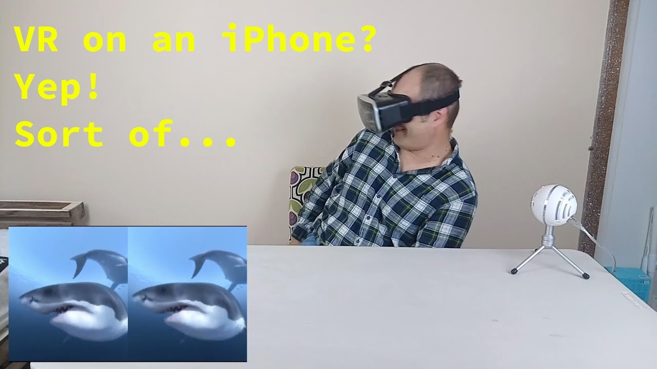 Vr On The Iphone 6s And Iphone 7 And It S Actually Pretty Good Youtube