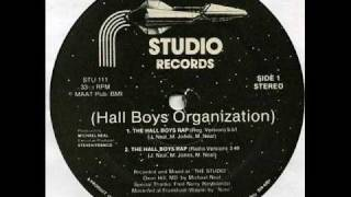 Hall Boys Organization - The Hall Boys Rap (Studio Records-1985)