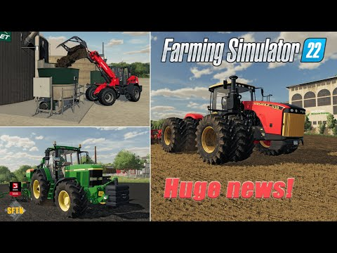 FARMING SIMULATOR 22 - Versatile and Shaffer confirmed! Your chance to play game before release.  