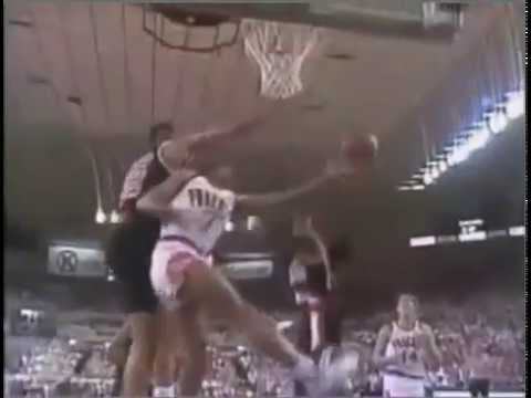NBA on CBS Intro 1990