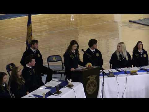 Knox Central High School FFA Banquet - May 11, 2017