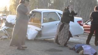 Видео с места ДТП 03.05.2015 на трассе Челябинск-Курган.