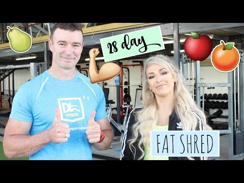 How to lose 14lbs on the 28day fat shred   Healthy eating plan and fitness program