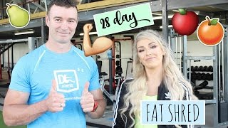 How to lose 14lbs on the 28day fat shred | Healthy eating plan and fitness program