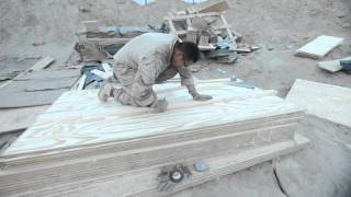 Marine Combat Engineers Clear Roads and Build Bridges in Afghanistan