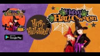 Happy Halloween Stickers & MakeUp 2016