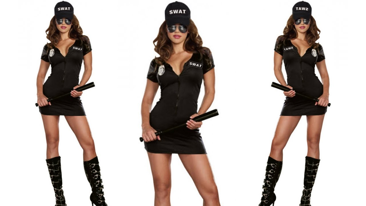 Women S Swat Police Adult Costume