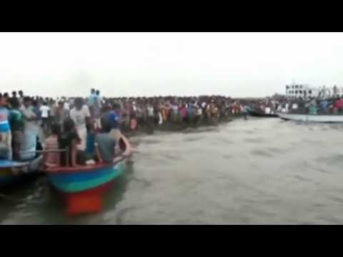 At least 12 dead as Bangladesh ferry capsizes