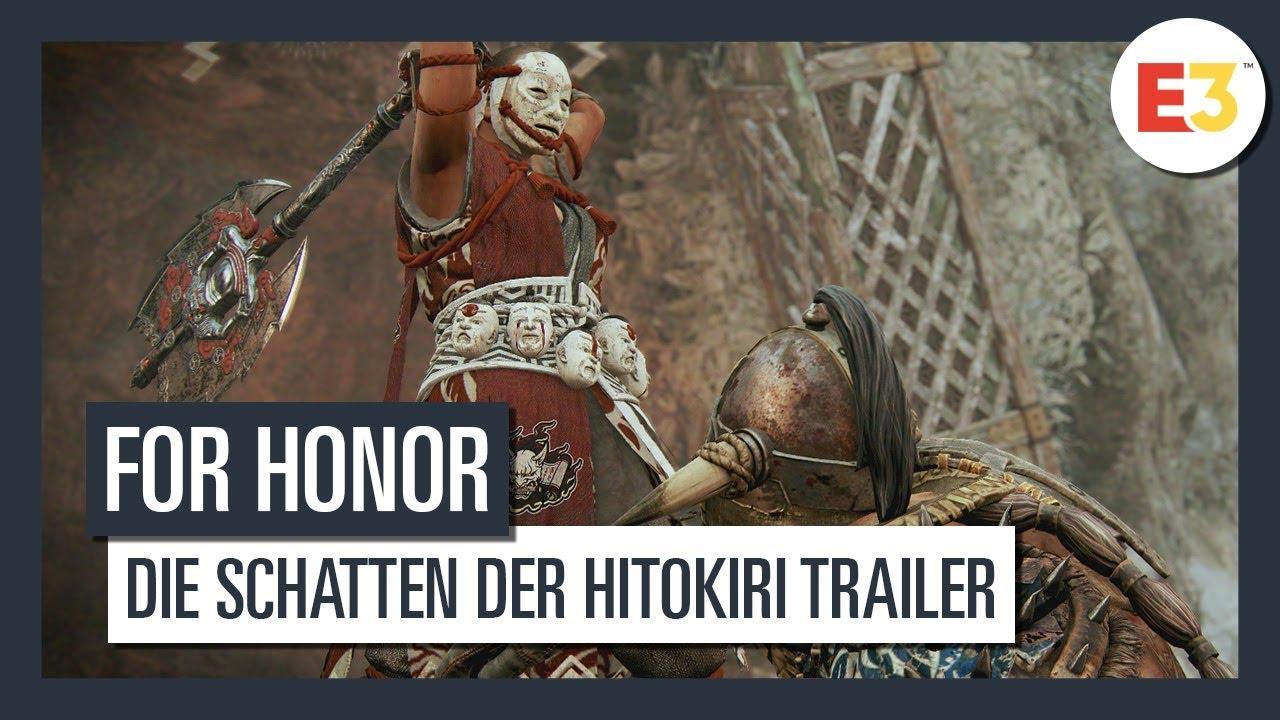 Download FOR HONOR - E3 2019: Die Schatten der Hitokiri Trailer | Ubisoft [DE]