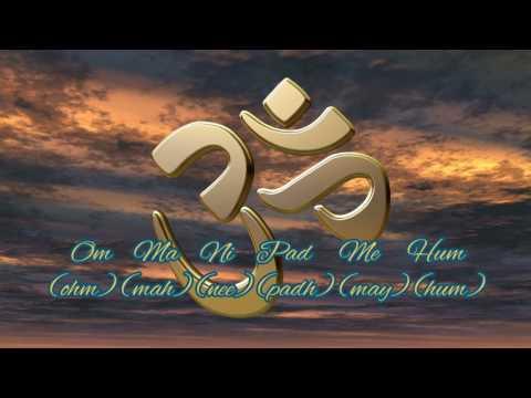 HD ॐ Mantra ॐ Om Mani Padme Hum ॐ 396 Hz ॐ