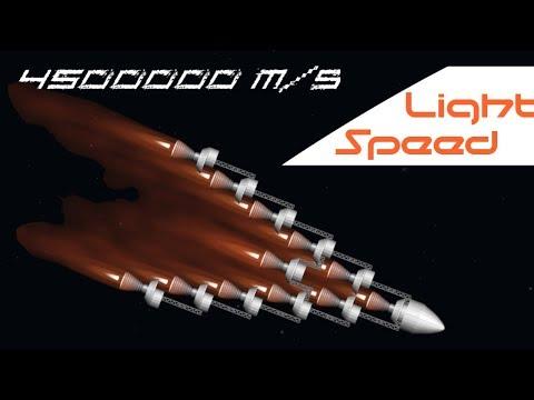 Reaching 1.5% Speed of Light   Spaceflight Simulator