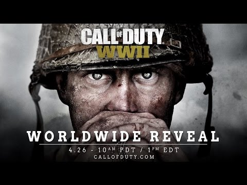 Call Of Duty WORLD WAR II CONFIRMED! WORLD REVEAL TRAILER COMING 26th APRIL! (Official reveal)