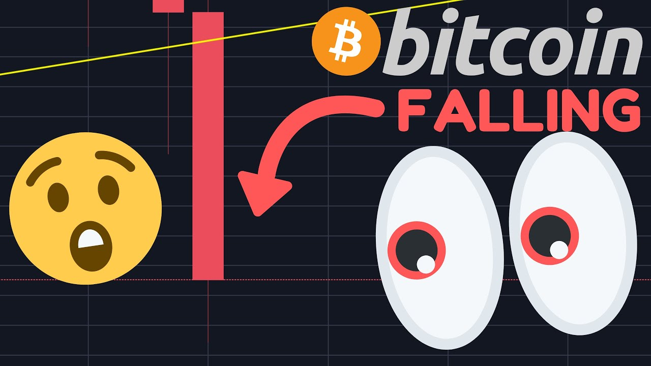 BITCOIN IS FALLING DOWN FROM THE TRIANGLE!!! BREAKOUT OR FAKEOUT?!!!!