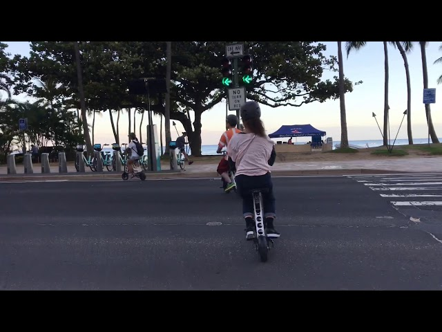 URB-EHawaii Diamond Head Ride 12/2018
