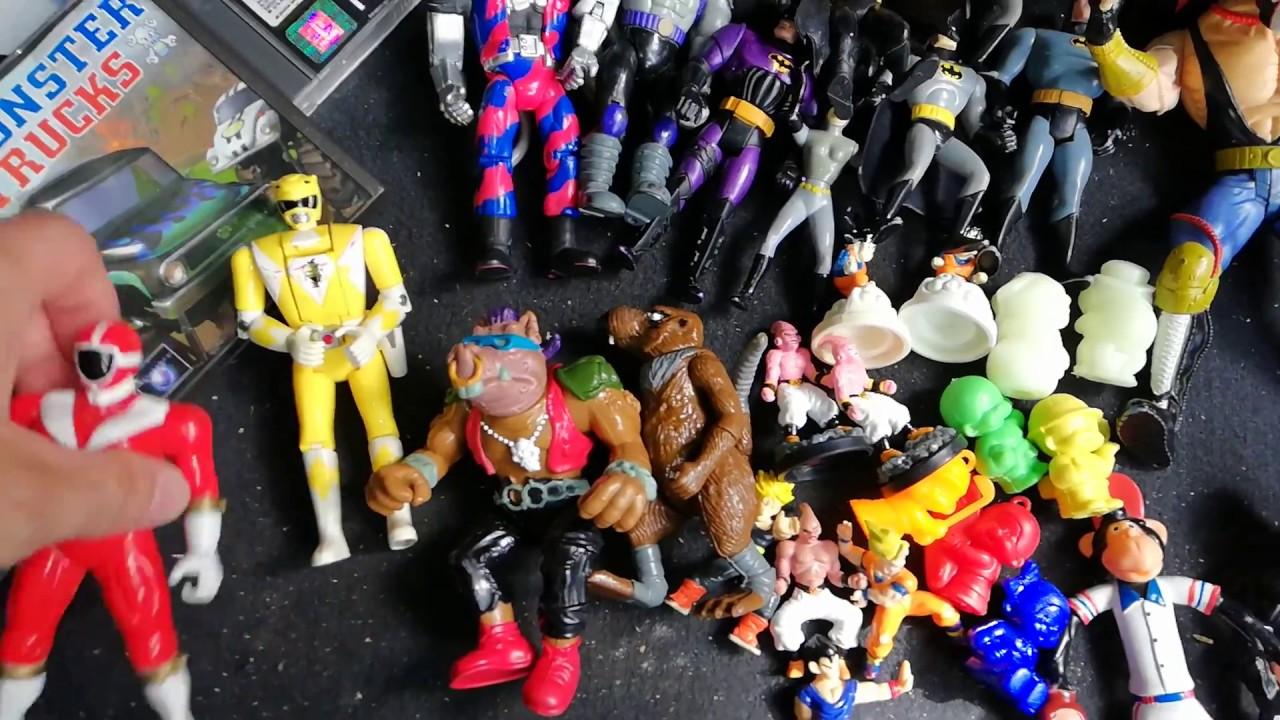 vide grenier compte rendu retrogaming ps1 jouet vintage figurine retro 80 90