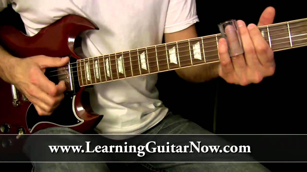What is the best way to play slide guitar on standard tuning?