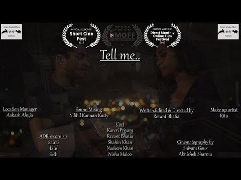 Tell Me | Short Film of the Day