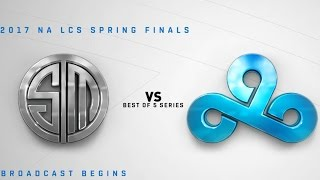 TSM vs. C9 - LoL Esports | NA LCS Spring Finals 2017: TSM vs. Cloud9 - FINALS