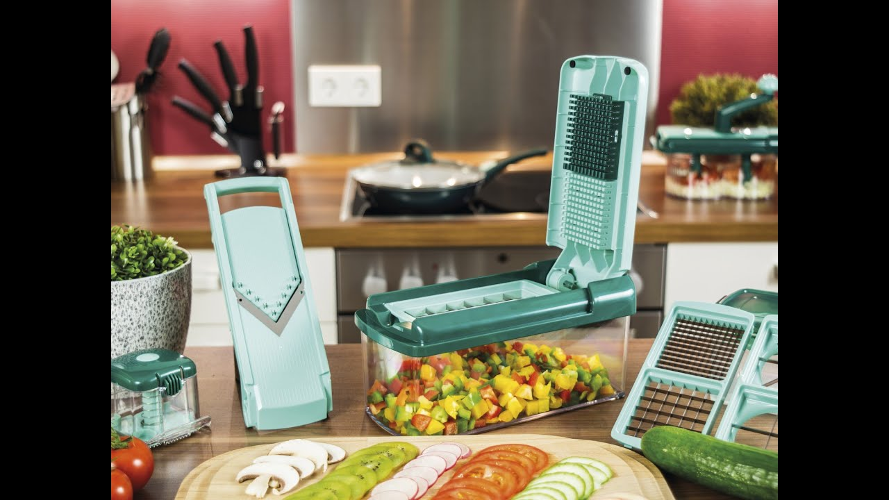 nicer dicer fusion smart chopper slicer youtube. Black Bedroom Furniture Sets. Home Design Ideas