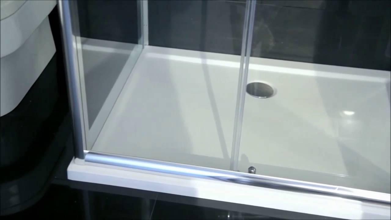 Aqua-I6 3 Sided Shower Enclosure - YouTube