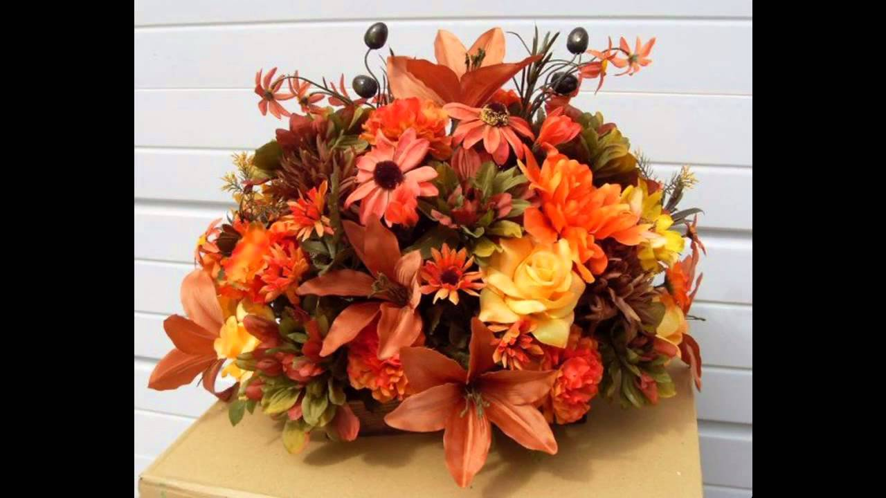 Beautiful fall flower arrangement ideas youtube beautiful fall flower arrangement ideas izmirmasajfo