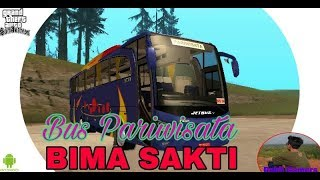 BUS BIMA SAKTI mod mobil Gta san andreas Android no import